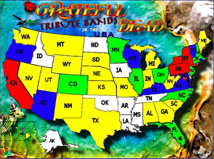 The Red 10 Bands Green 5 9 Blue 3 4 Yellow 1 2 And White 0 I Ve Never Been So Disappointed To Not Live In A Red State But At Least Illinois Sees A