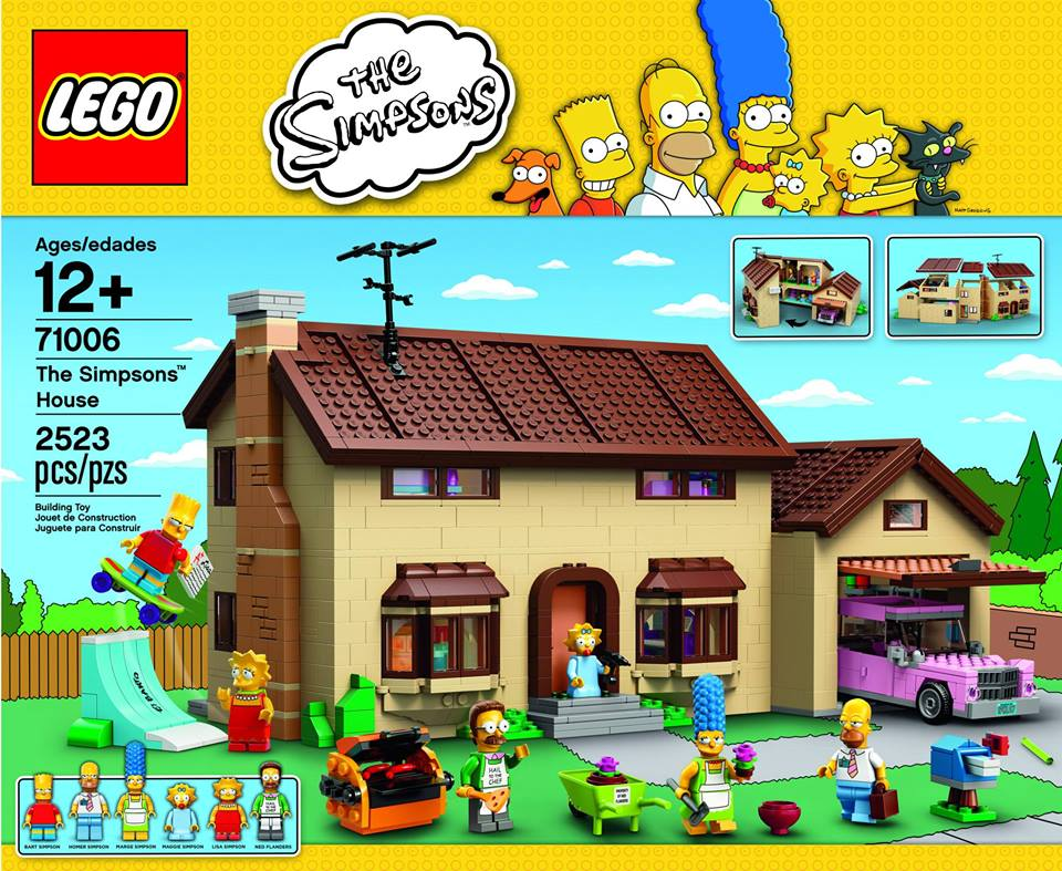 The Lego Simpsons House: A View Inside and Behind The Scenes