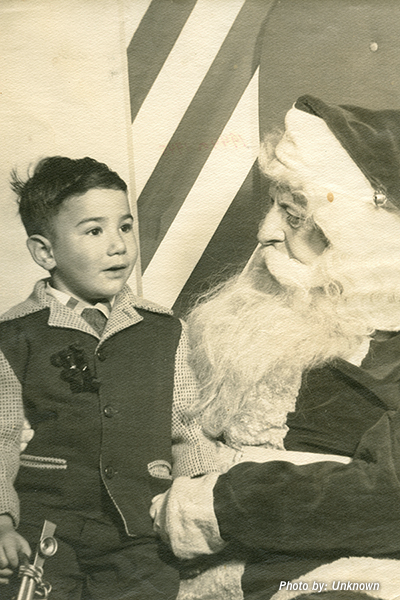 Yes, This Is A Photo Of Jerry Garcia Sitting On Santa's Lap