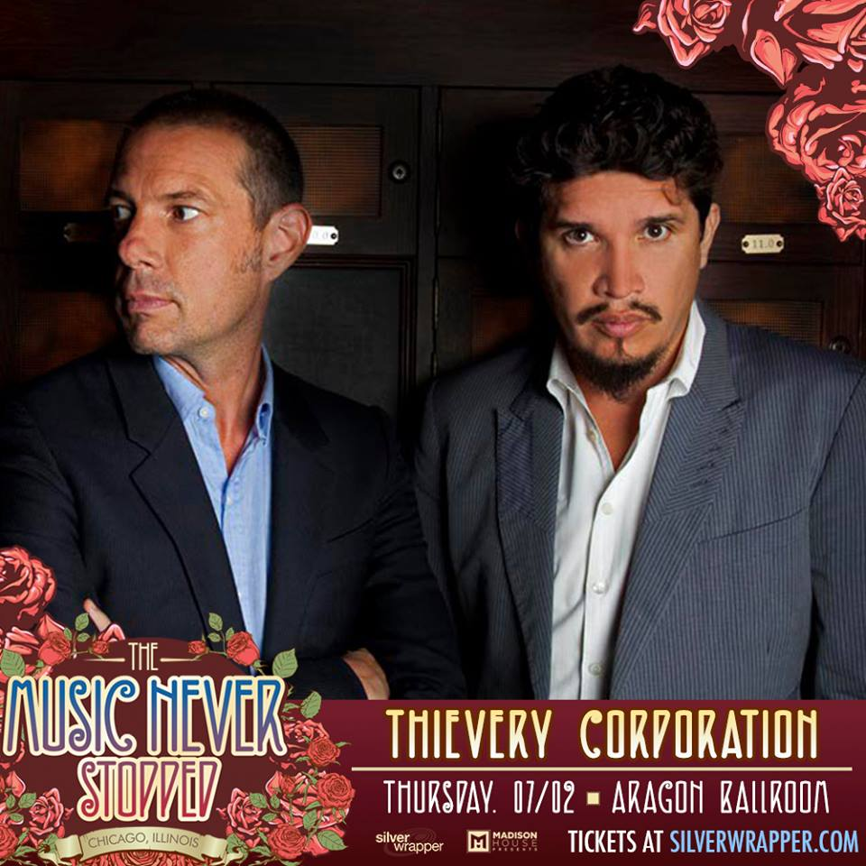 Preview & Ticket Giveaway | Thievery Corporation @ Aragon Ballroom
