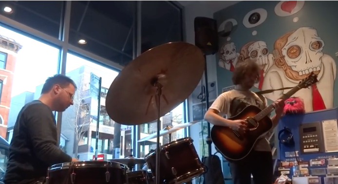VIDEO | Ryley Walker & Charles Rumback @ Permanent Records - RSD 2016