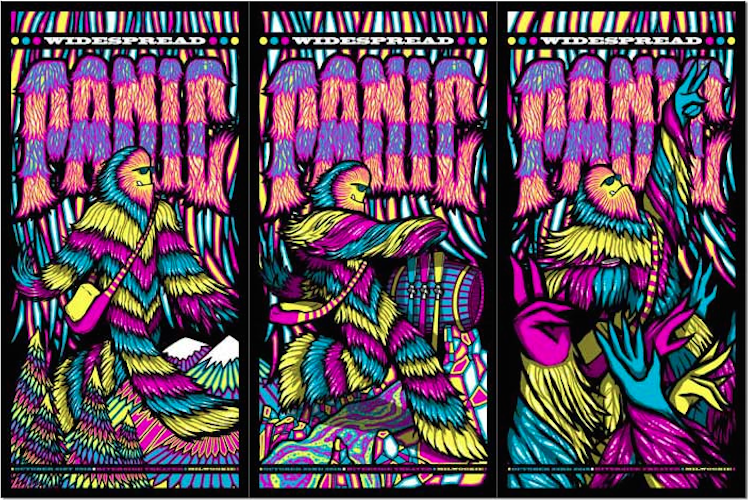 Widespread Panic @ The Riverside 2016 | Posters & Preview