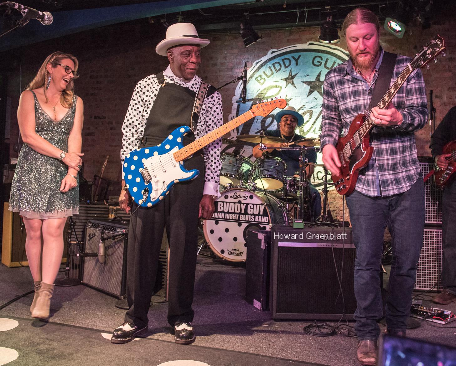 PHOTOS / VIDEO   Derek & Susan Join Buddy Guy Late Night at Legends 1/21/17
