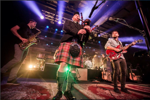 Revivalists Cover Chuck Berry, AC/DC (With Bagpipes) At Concord [Setlist / Video]