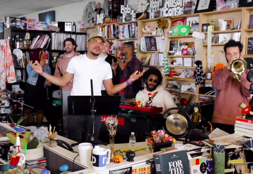 Watch Chance The Rapper's Epic NPR Tiny Desk Concert, Even More Epic Encore