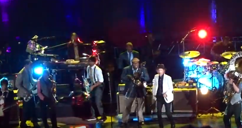On TV   Beck and Preservation Hall Jazz Band Collaborate At Red Rocks