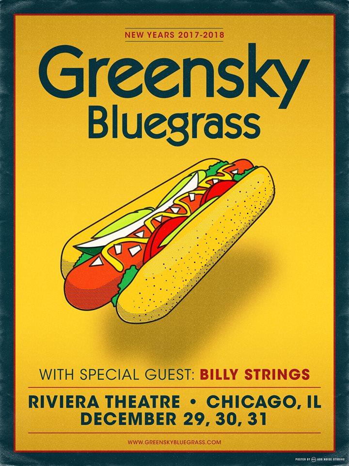 Greensky Bluegrass Announces 3 Night Chicago NYE Run, Kalamazoo Thanksgiving