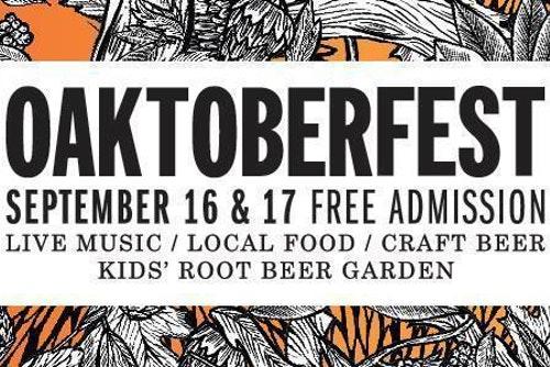 FESTIVAL WATCH   Oaktoberfest