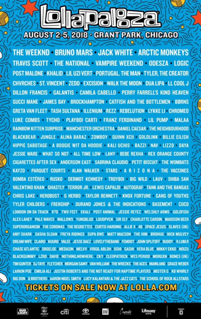 Festival Watch | Lollapalooza 2018