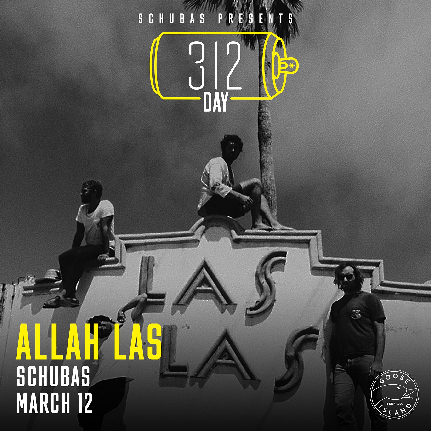 """Goose Island Announces """"312 Day"""" Concerts For 2020"""